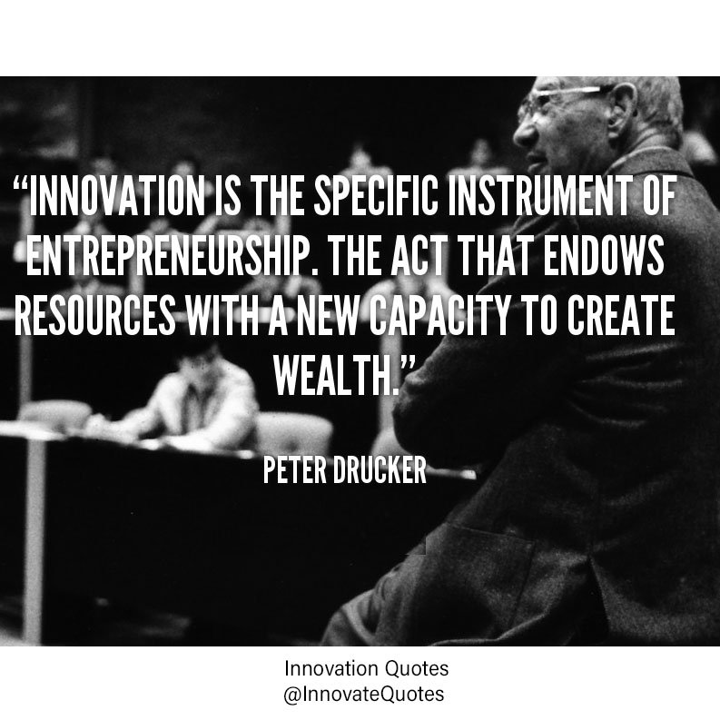 innovation quotes on innovation is the specific