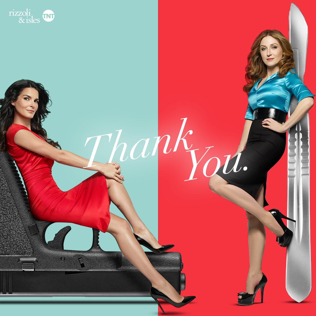 A big, heart-felt thank you to the best fans around. #RizzoliandIsles wouldn't have been what it was without you. https://t.co/M3kVES5sG0