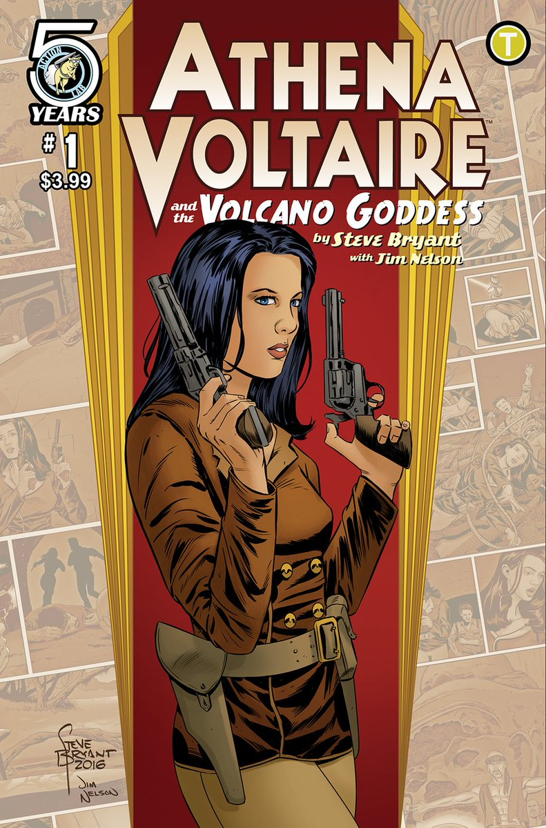 My first Athena Voltaire miniseries from @ActionLab is available to preorder! Here's the cover & a handy order form! https://t.co/VXkKOwBDby