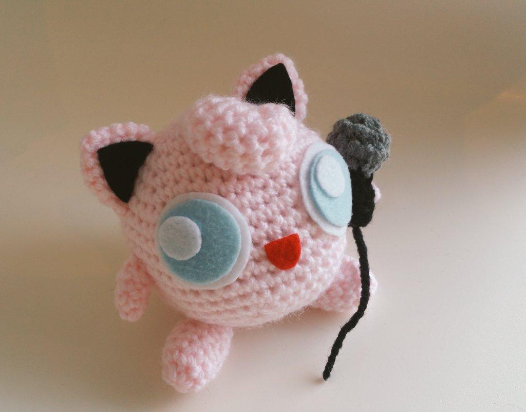Jigglypuff Amigurumi Charm | Crochet Amino | 801x1024