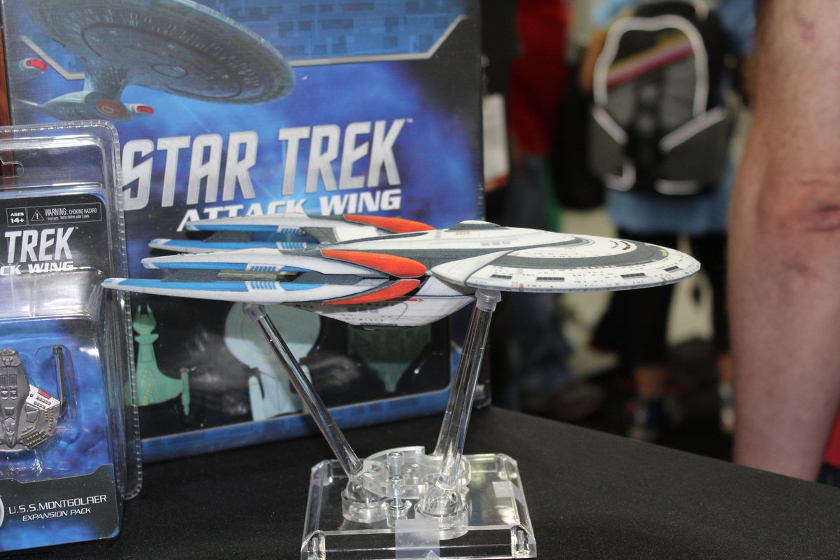 Hey all - I'm going to be posting some pix of the examples of #STO 3D printed ships. :) #1 https://t.co/9HntGdj1eZ
