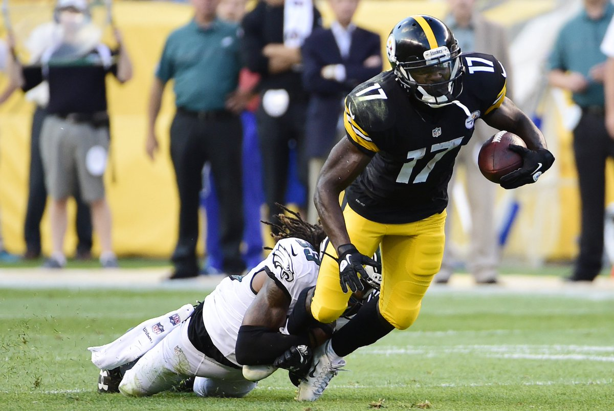 Eli Rogers gives Steelers different look at the slot-receiver position CrseIU2VUAAAtek