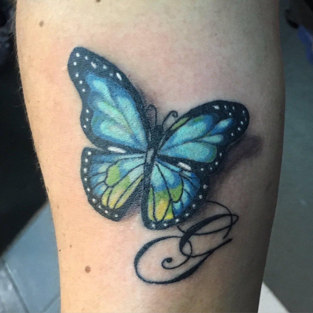 Leonardo Cuevas On Twitter Butterflytattoo Colortattoo Tattoo