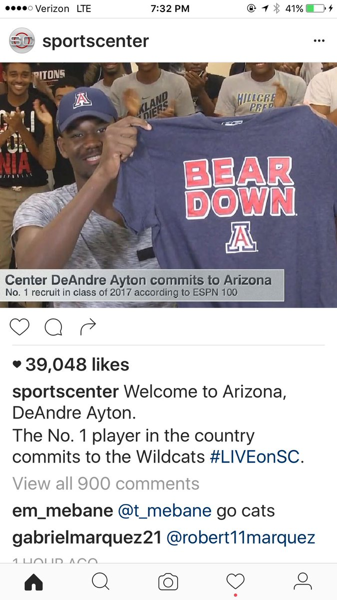 Yes @UACoachMiller  strikes gold in recruiting ! https://t.co/xm5ChHh8kT