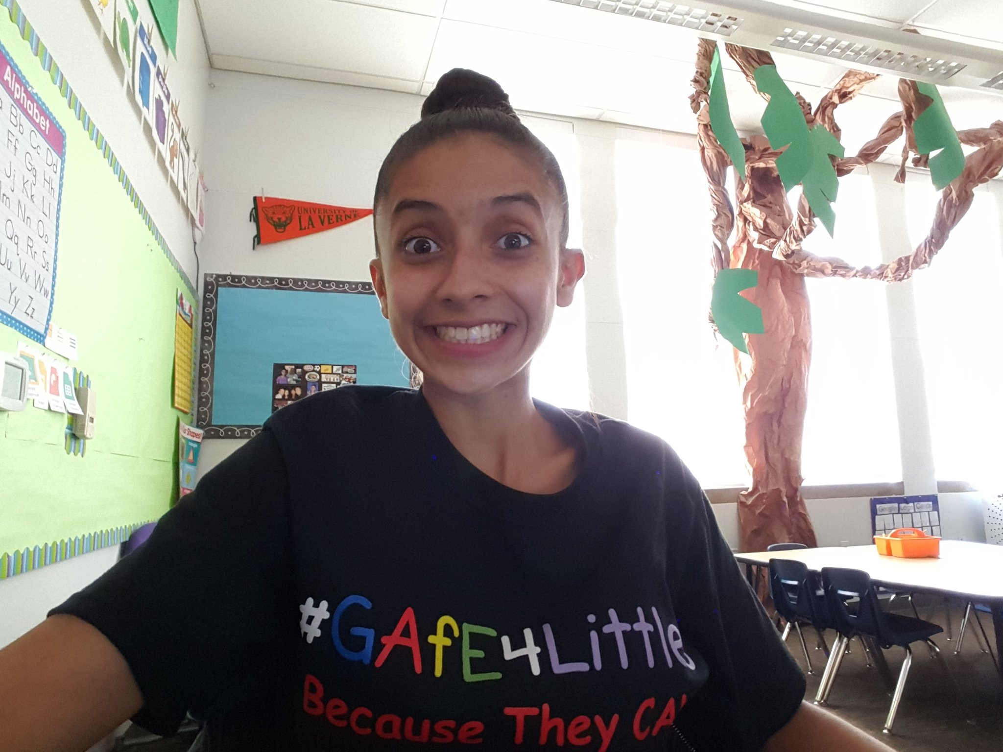 Welcome to the #gafe4littles chat! Kinder T from @ArcadiaUnified in So Cal moderating from my classroom! https://t.co/QC9F895cmf