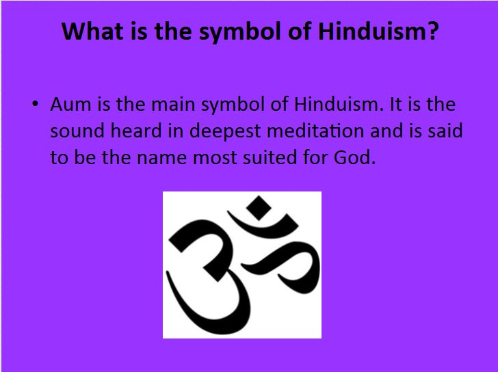 Neetu Garg On Twitter Aum Is Symbol Of Hinduism It Is Sound Heard