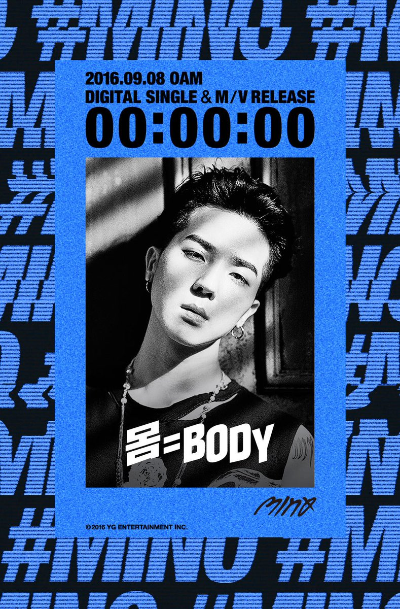 [MINO - '몸=BODY' COUNTER] originally posted by https://t.co/XZQ3IOZLby #송민호 #미노 #마이노 #송다정 #DIGITALSINGLE #MV #0AM