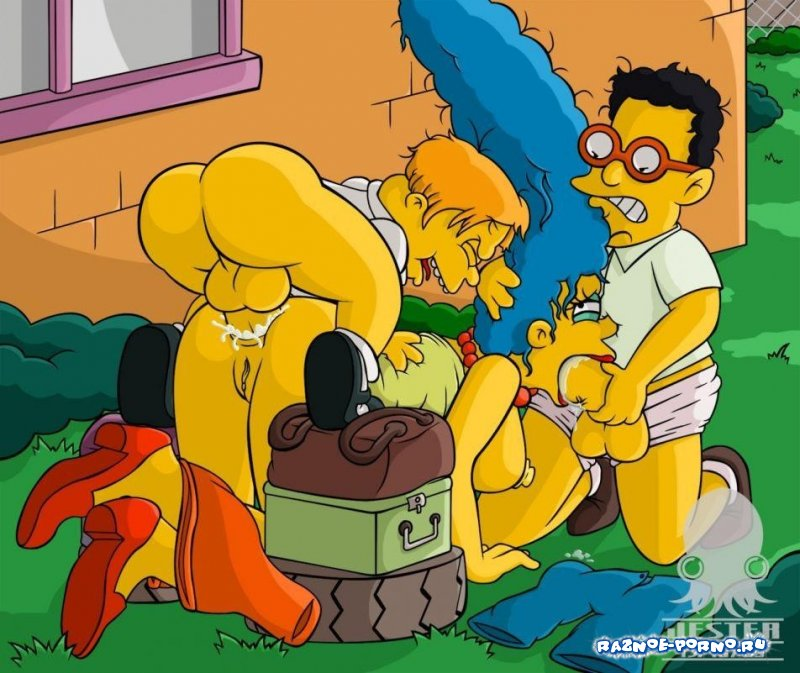 Bart simpson hard fuck sexy milf marge simpson