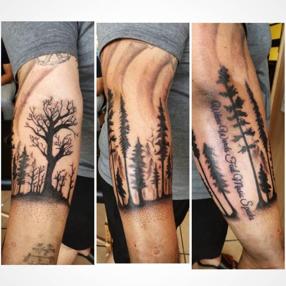 Plantilla Forestry Tattoos Wwwmiifotoscom