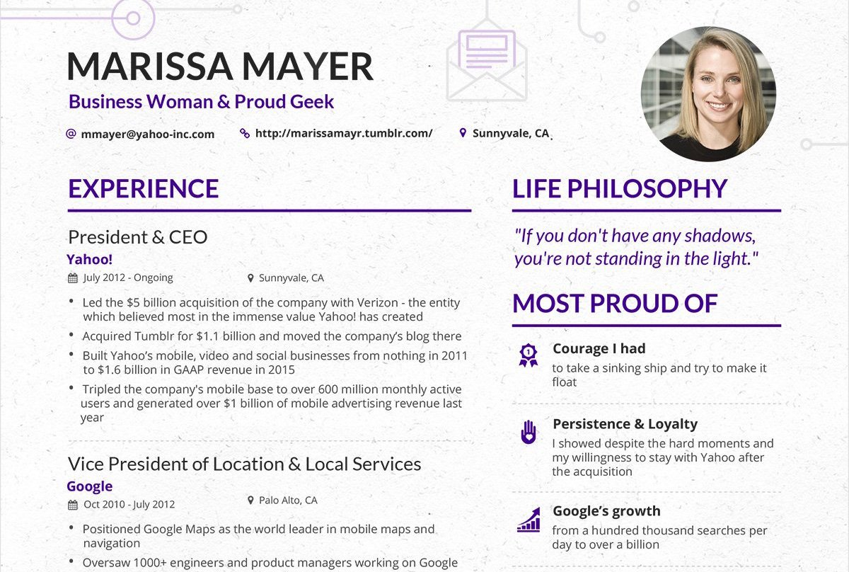 """BrighterBox on Twitter """"Some great CV inspo from none"""