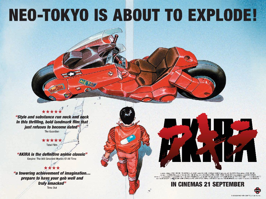 Cult anime classic Akira returns to the Big Screen to celebrate @MangaUK 25th birthday https://t.co/HrtZEH8f4P https://t.co/KpFLcBPuvZ
