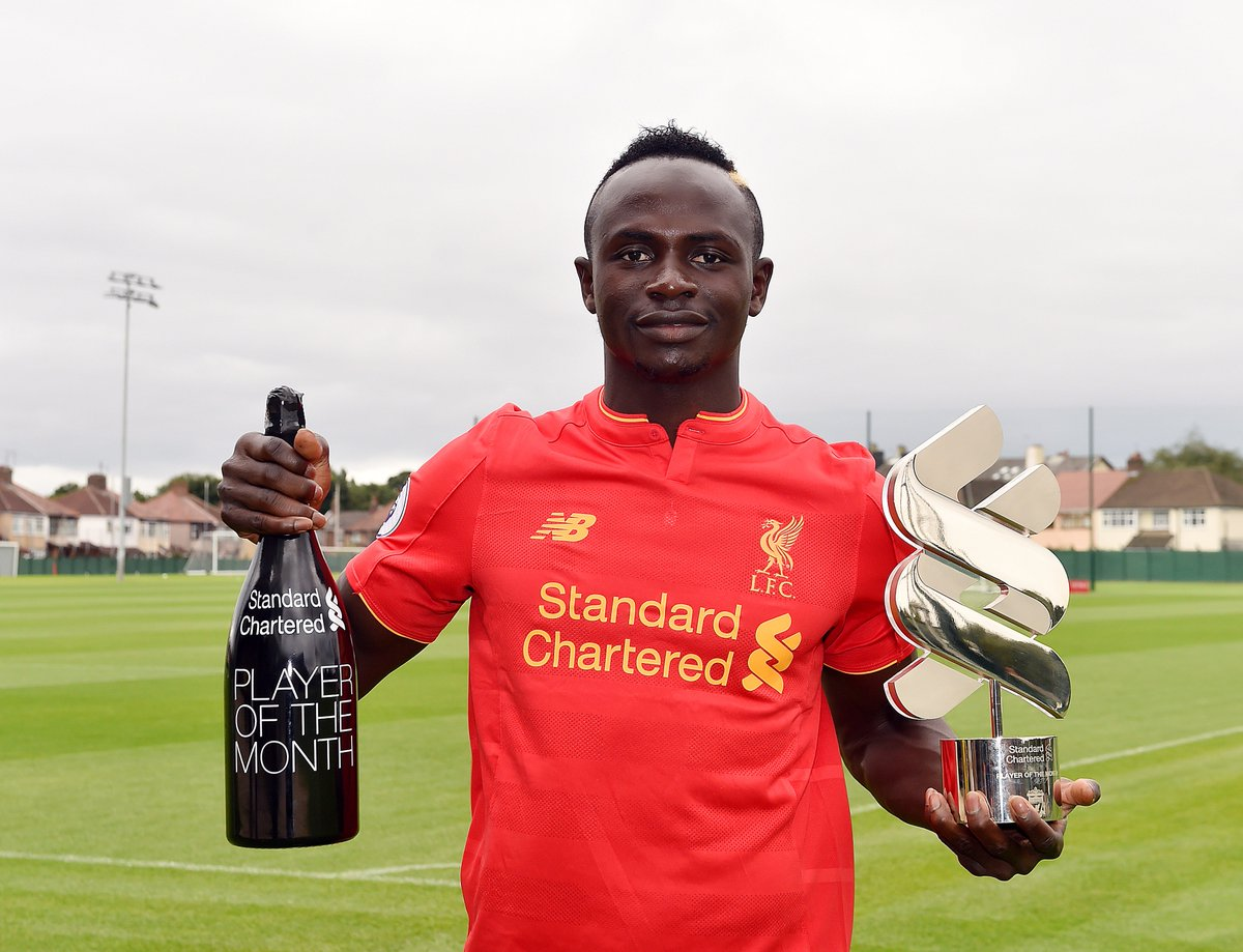 "Liverpool FC on Twitter ""Congratulations to Sadio Mane"