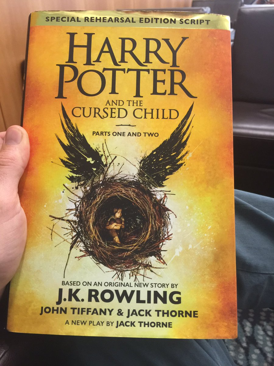 Time to read Cursed Child on my trip to Sydney