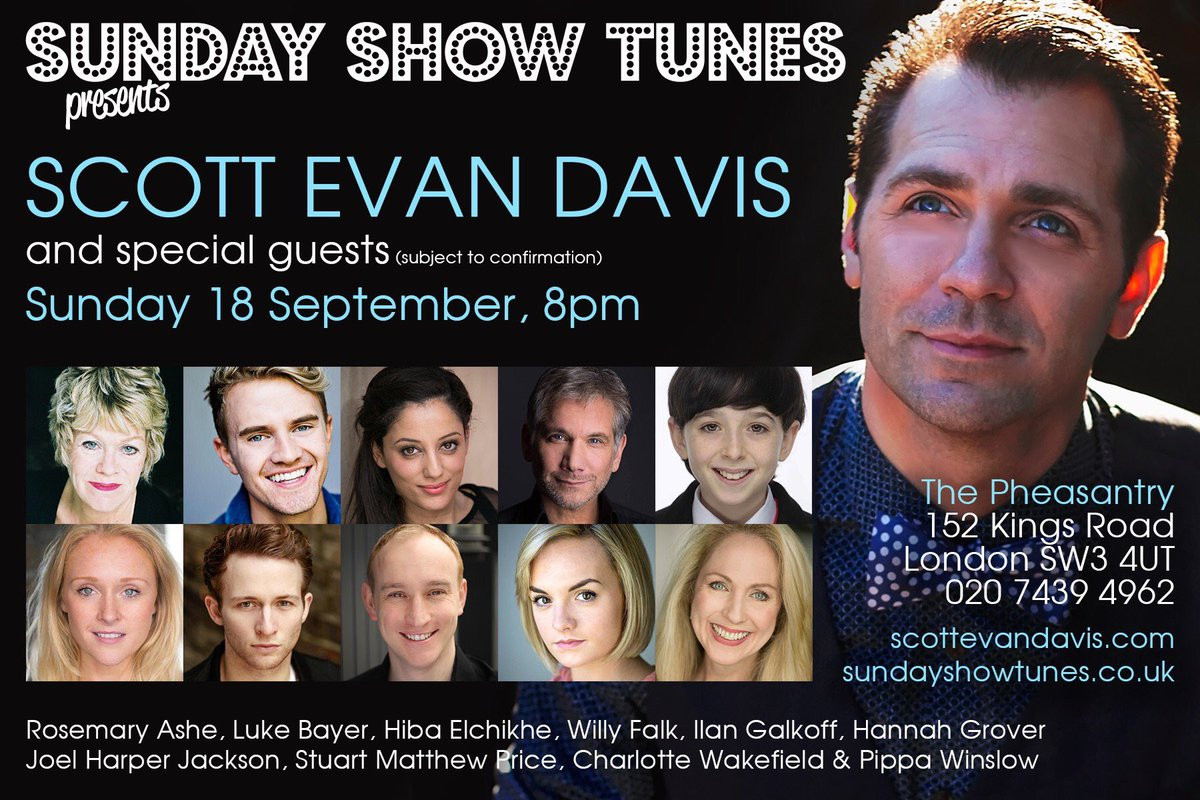 So soon! Tix are selling fast. Reserve now if you want to come. Sept.18. @pizzapheasantry @sundayshowtunes https://t.co/B2cCCAAQhl
