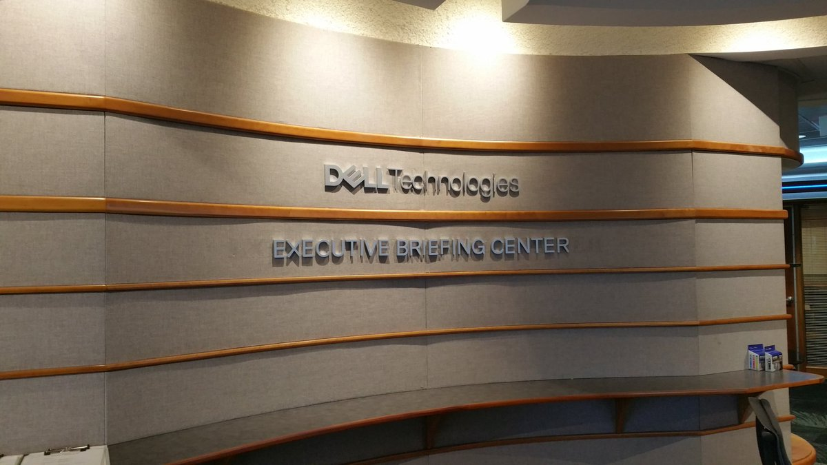 Day One, Dell Technologies. #DellTechnologies #DellEMC https://t.co/kqUwXcqidP