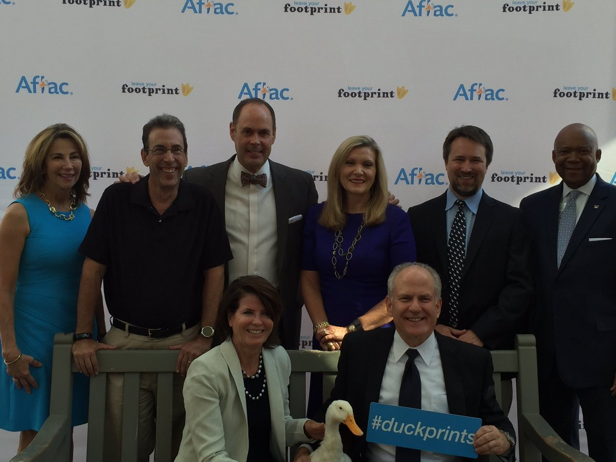 Please help #Duckprints by RTing: Aflac will donate $2--up to $1.5M—to the Aflac Cancer Center for kids with cancer https://t.co/UoWAyZIsMv