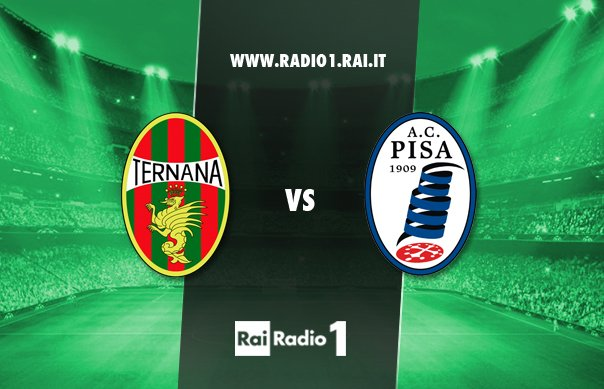 TERNANA-PISA Rojadirecta, info streaming e radio live
