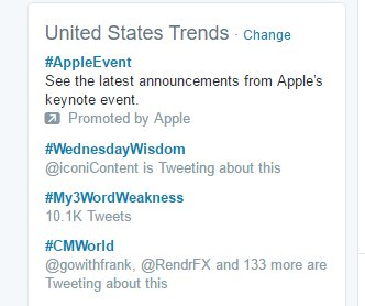 Total humblebrag and but so proud. The #CMWorld community rocks. We're trending nationally. https://t.co/WDfzHvBo2f
