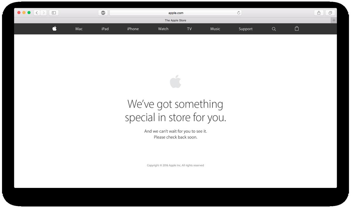 ตามสูตร แอปเปิลปิด Apple Store เพื่ออัพเดทสินค้าใหม่ #iPhone7TH https://t.co/kjBu9sZiBw