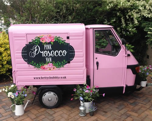 889e2b8243 Betty  The Pink Prosecco Van  really is a little show stopper   a novelty  asset at any event!  Somerset  Weddingspic.twitter.com xTv6JQRdRo