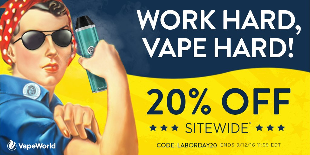 Vapeworld coupon code