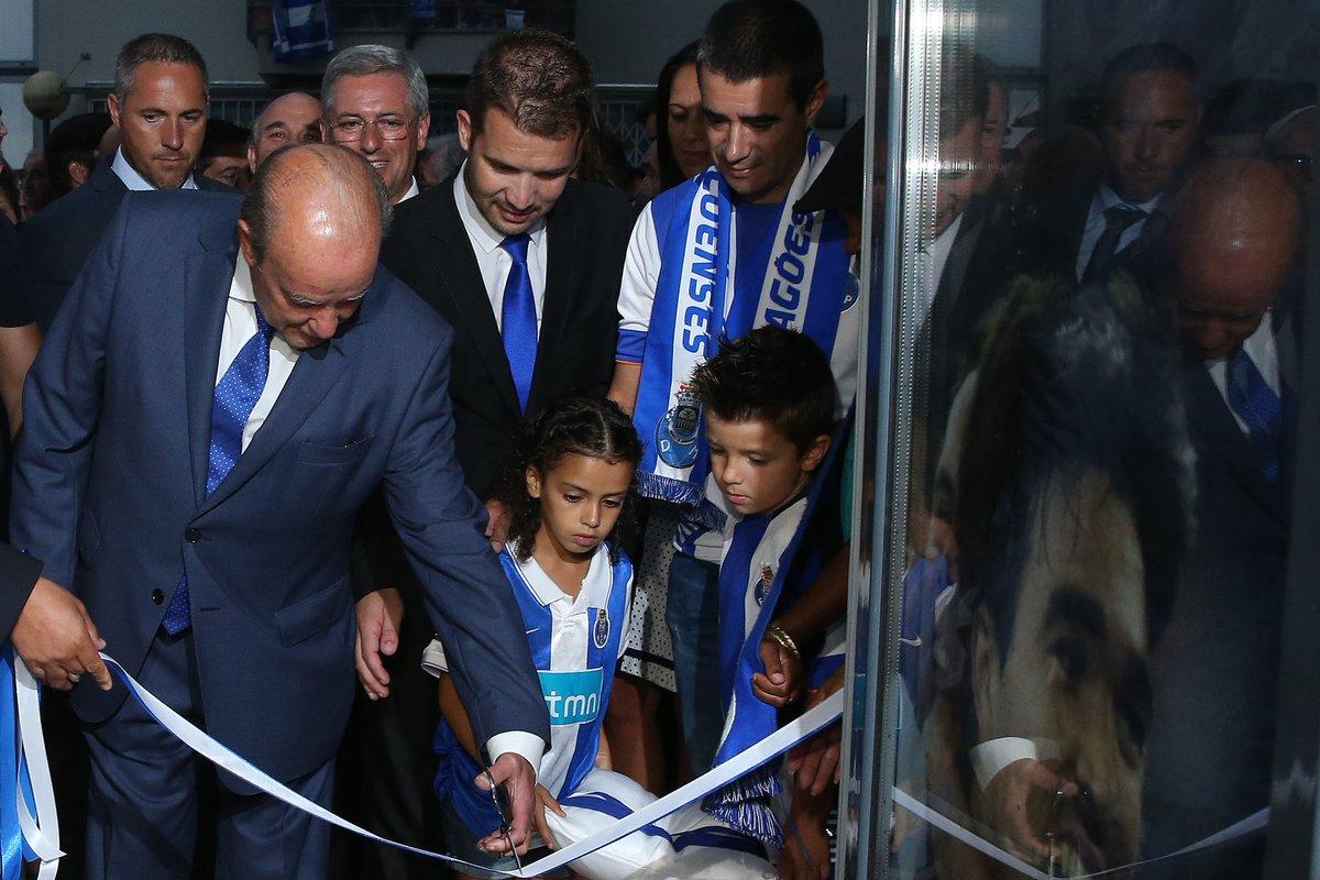Inauguração da casa do #FCPorto do Marco de Canaveses. O Presidente estará em direto, no Porto Canal,perto das 22h30