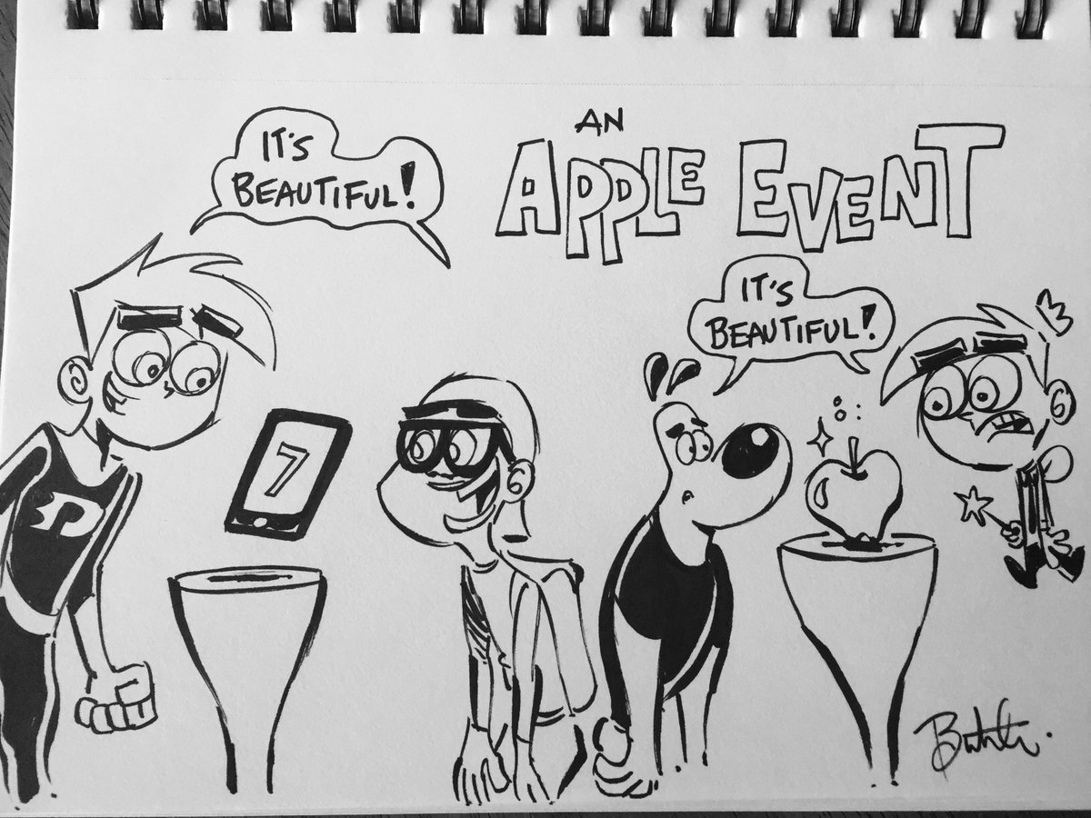 Different perspectives… #AppleEvent https://t.co/eh3jbN5mDX