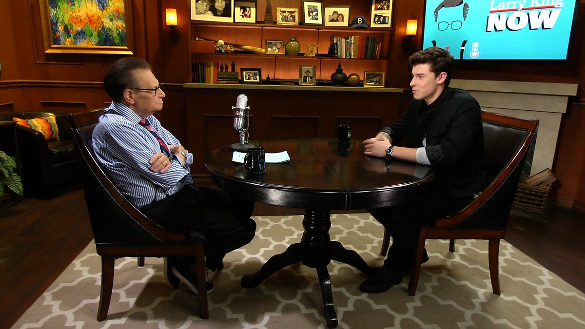 For your viewing pleasure, my convo w/ @ShawnMendes. A talented, humble & well-rounded guy! https://t.co/QR2AT9WaUy https://t.co/tP8q1t6xCA