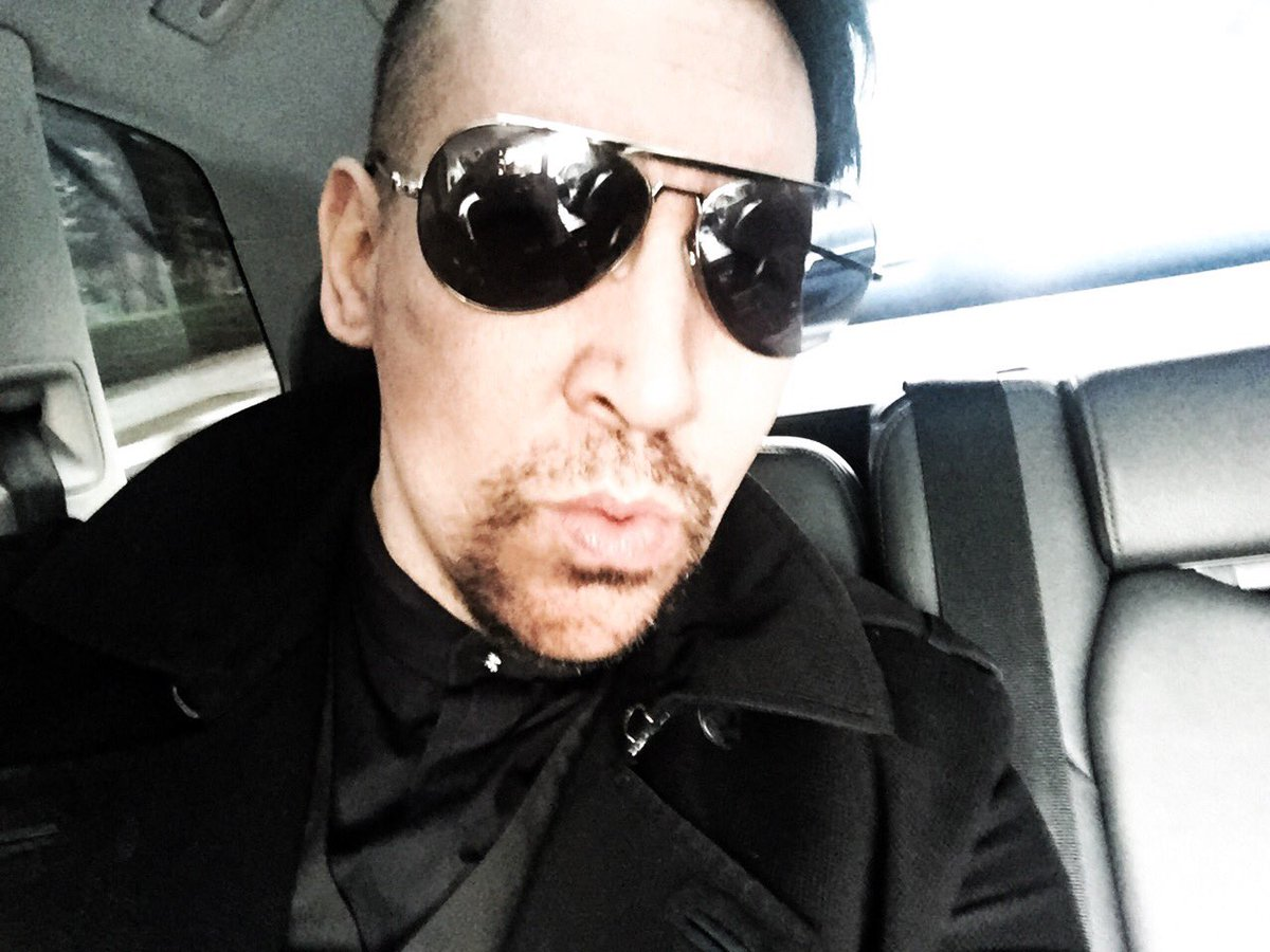 marilyn manson on twitter são paulo i have arrived