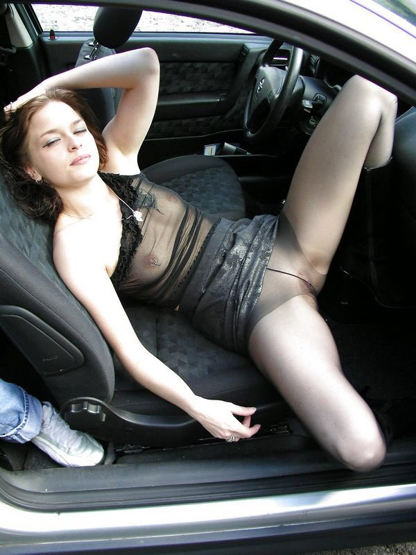 Public pantyhose post