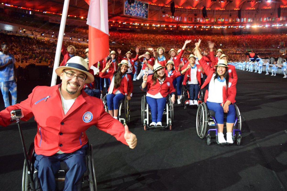 Resultado de imagen para team chile paralimpico