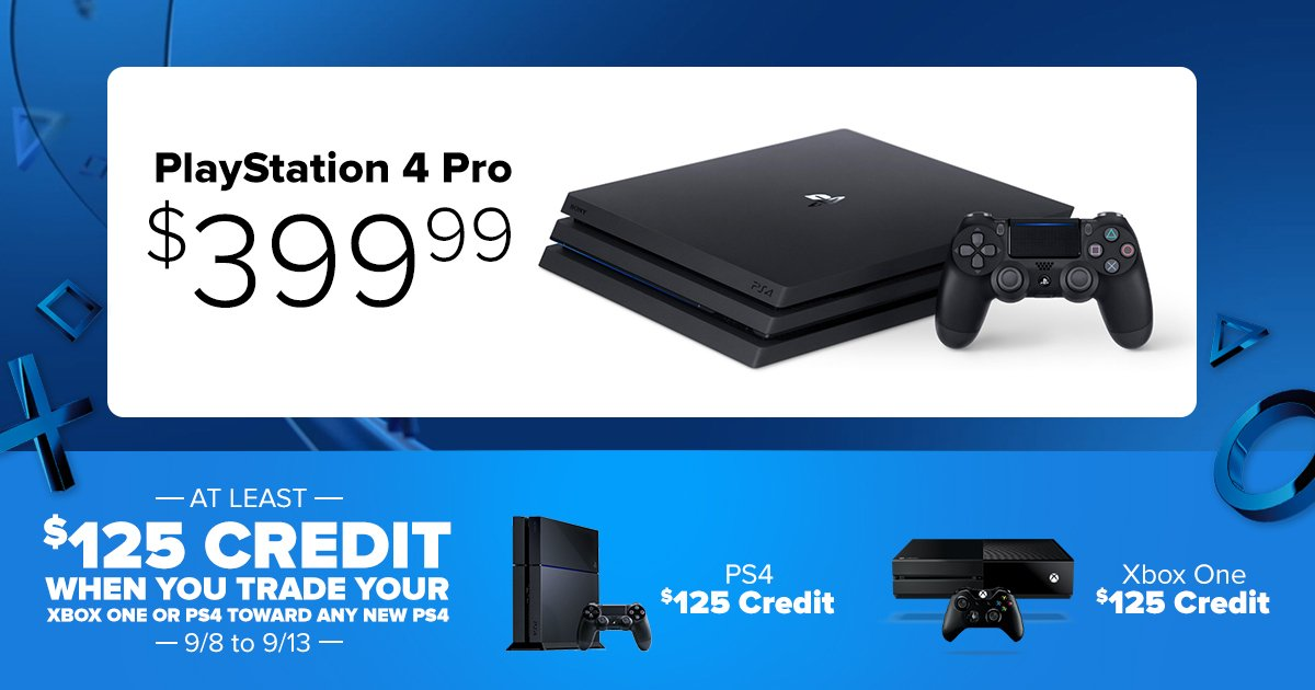selling and trading in your ps4 for a ps4 pro neogaf