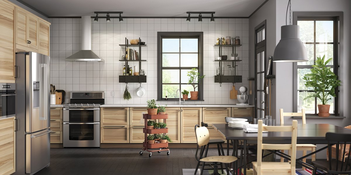 """IKEA USA on Twitter: """"Create a #kitchen to match your ..."""