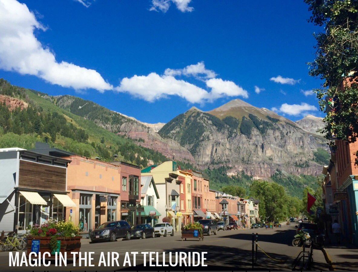 Leonard Maltin on Twitter Magic in the Air at The Telluride Film