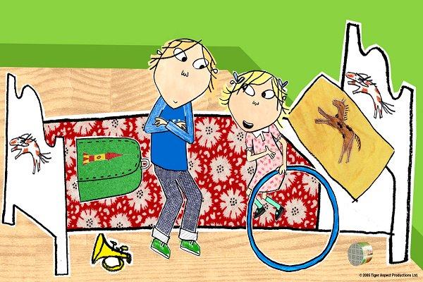 Charlie Y Lola Serie De Juego Infantil Imaginativo Por Discovery