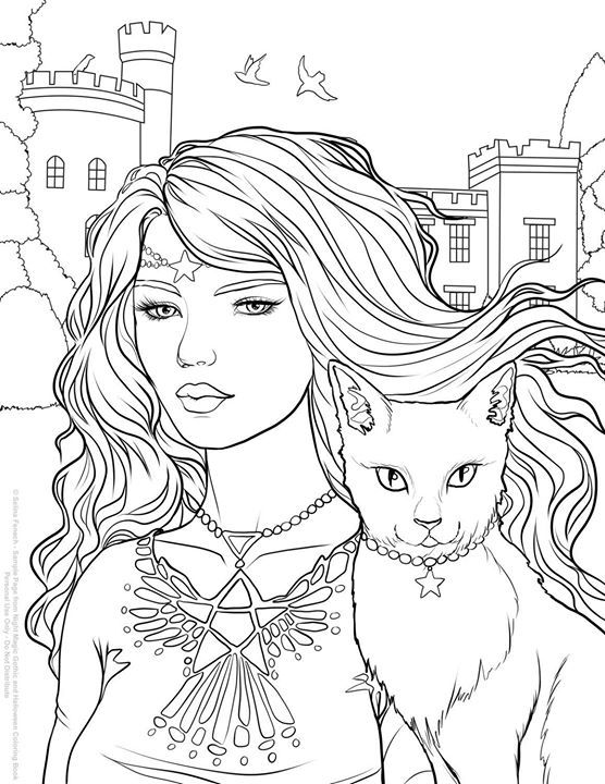 Selinafenech On Twitter Free Coloring Page From My New Night Magic