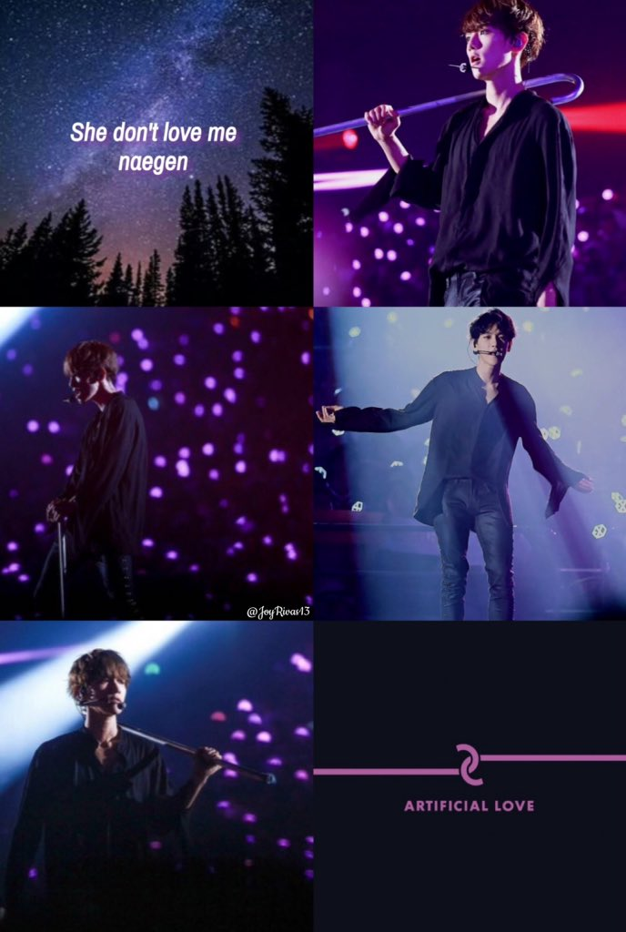 Exo Edits On Twitter Exo Baekhyun Artificial Love Wallpaper