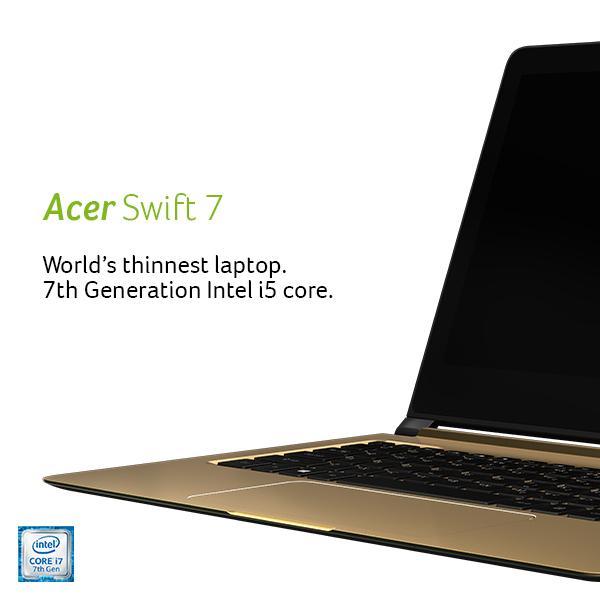 Acer Swift 7 Core i5 7th Gen