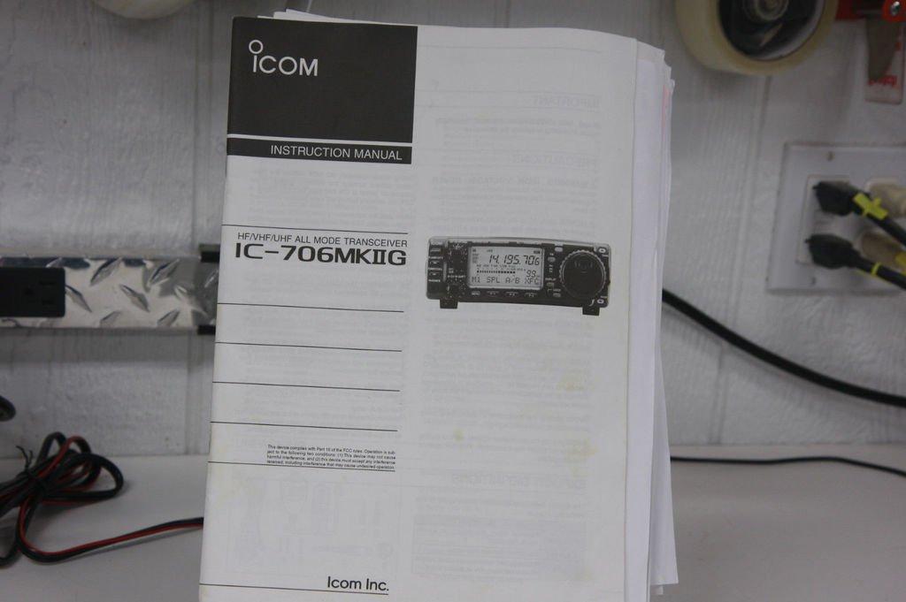 Icom Instruction Manual