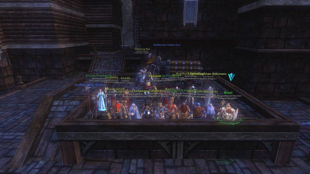 Radiant knights radiantknights twitter for Warhammer online ror artisanat