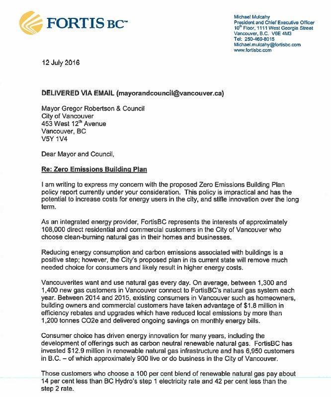 fortisbc cover letter