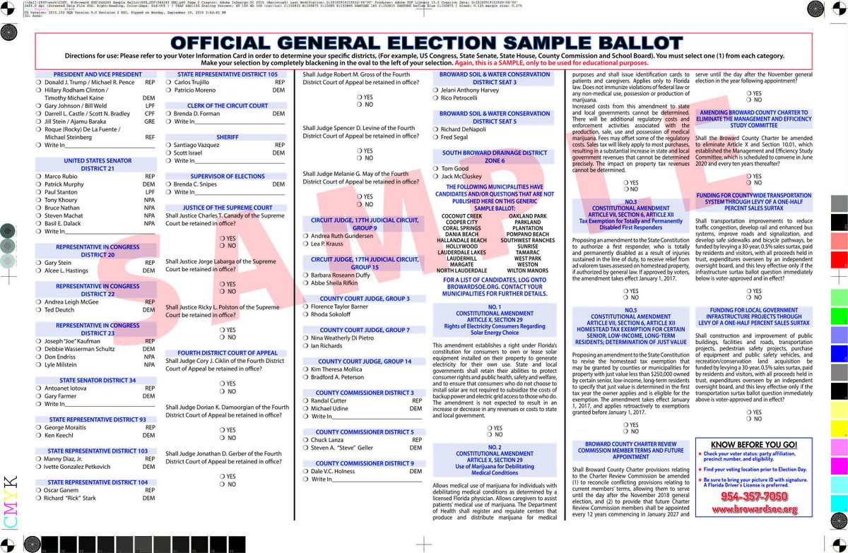 2016 primary election coverage: candidate info, sample ballots.