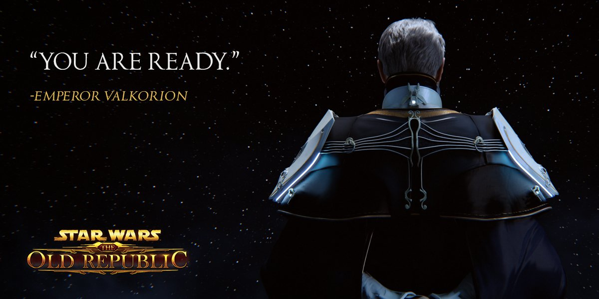 The Old Republic On Twitter What Plans Do You Think Emperor Valkorion Has In Store For Knights Of The Eternal Throne This Fall Https T Co Cuhkyw7zik Https T Co H1yszvoxdl One of the eight great heroes from the galactic war, the outlander caught the personal interest of emperor valkorion. emperor valkorion