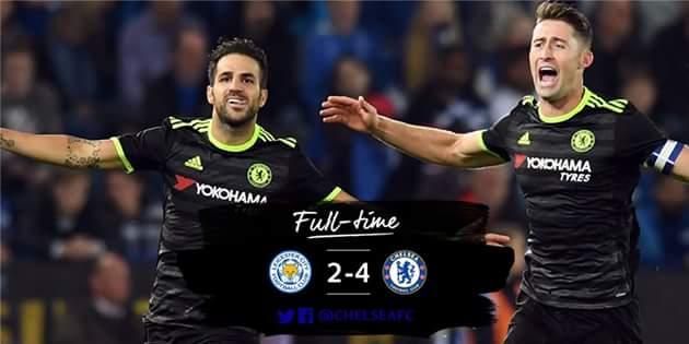 League Cup: Leicester City 2-4 Chelsea Highlights: Gol di Cahill, Azpilicueta, Fabregas (x2)