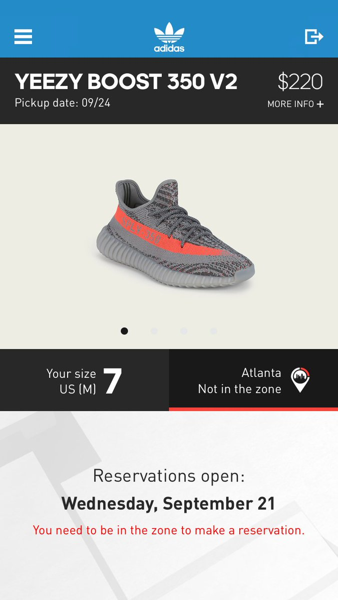 adidas alerts on Twitter: \u0026quot;Reservations for the Yeezy Boost 350 V2 go live tomorrow on the adidas Confirmed app. Register now to participate. ...