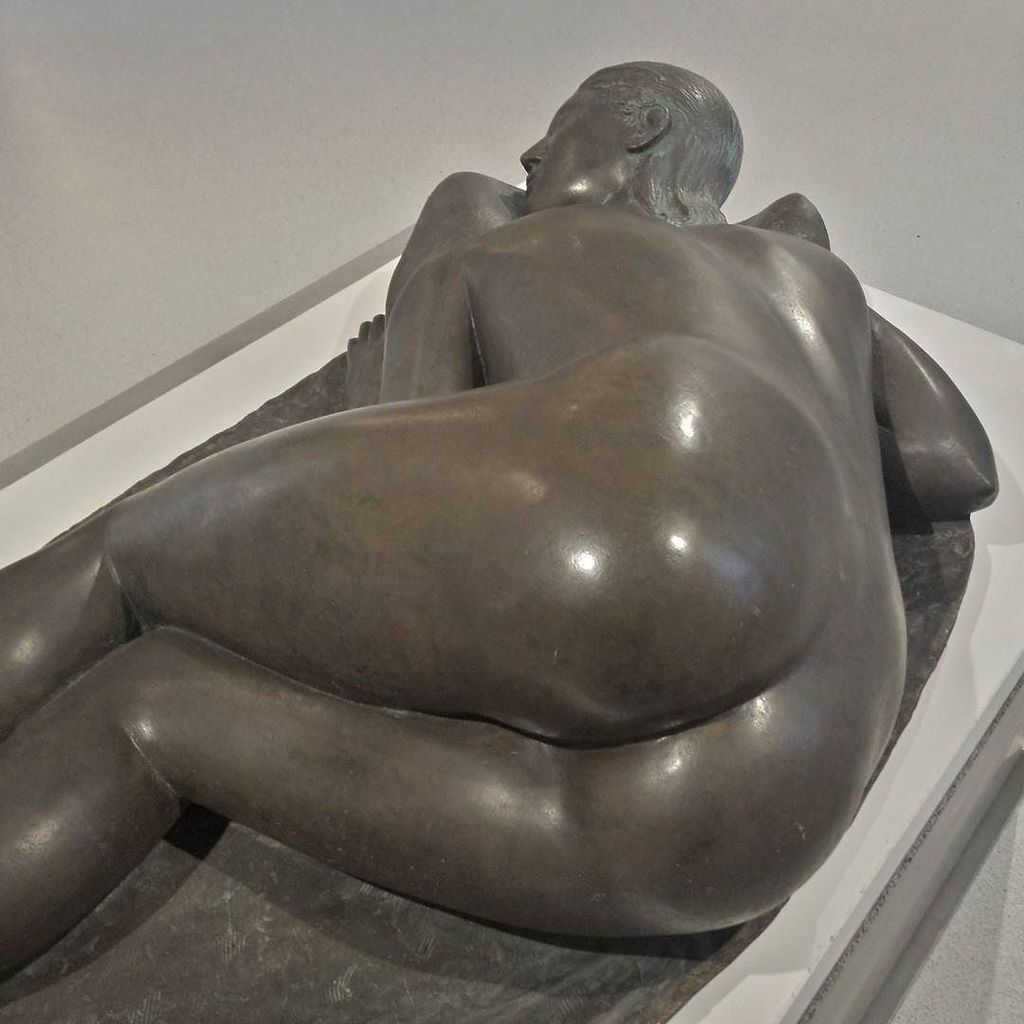 #arturomartini #pisana #bronze  #sculpture #museobailo #treviso #woman #nude https://t.co/LU5zJ1Wkuc