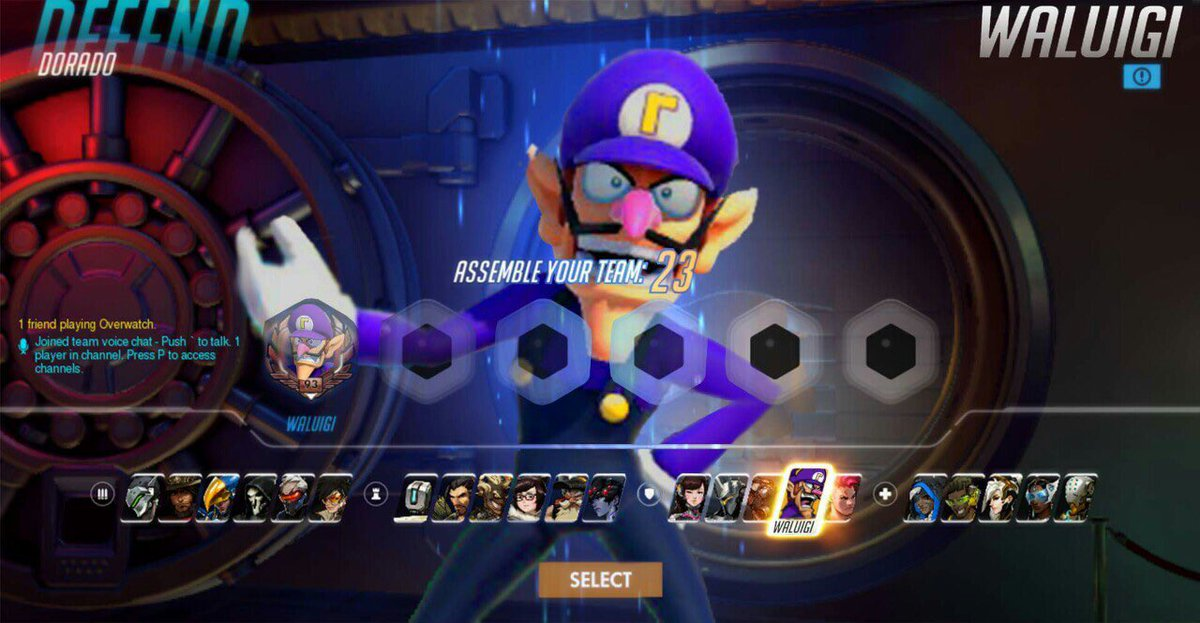 Image result for overwatch hero select gif