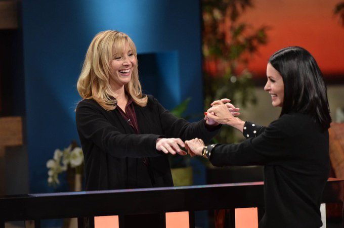 Watch @CourteneyCox and I on @CelebNameGame today! Check your local listings! https://t.co/DlO1qx07iq