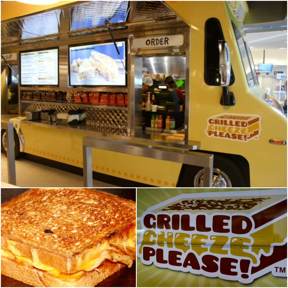 Lax airport on twitter pic can you say grilled cheese grilled cheeze please is now open in americanair t4 as part of lax food truck rotating concept