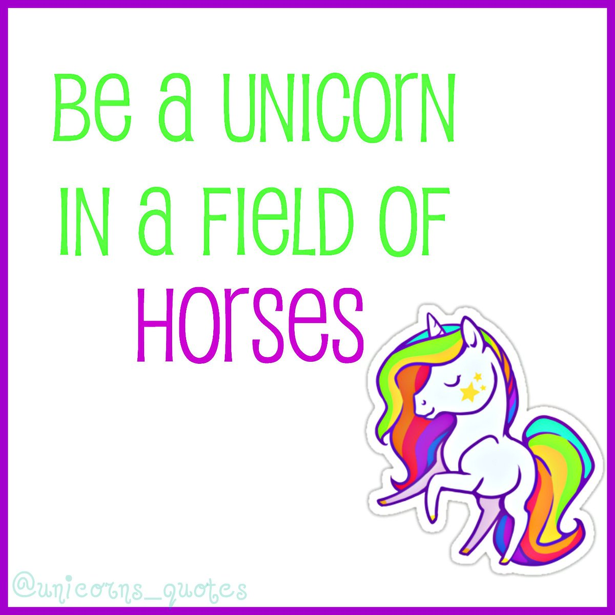 Cute Unicorn Quotes | www.imgkid.com - The Image Kid Has It!